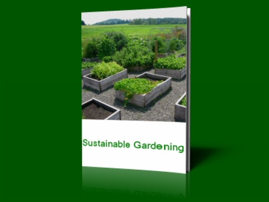 Product picture Sustainable Gardening  Rebrandable Report  w/ MRR
